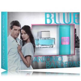 Antonio Banderas Blue Seduction komplekts sievietēm (80 ml. EDT + 150 ml. pūšams dezodorants)