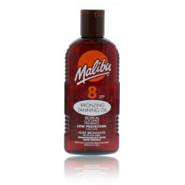 Malibu Bronzing Tanning Oil SPF 8 aizsargājošs eļļa sekmējošs iedegumu 200 ml