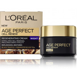 Loreal Age Perfect Cell Renew atjaunojošs nakts sejas krēms 50 ml.