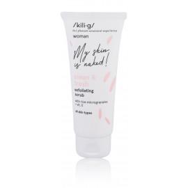 Kili·G Woman Clean & Fresh sejas tīrīšanas līdzeklis ar rīsu mikrogranulām 75 ml.