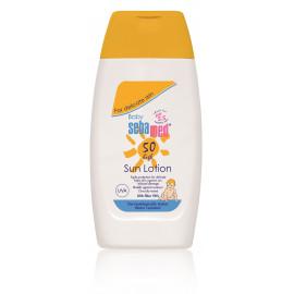 Sebamed Baby Sun Lotion SPF 50 aizsargājošs losjons pret sauli bērniem 200 ml.