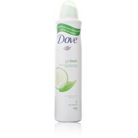 Dove Go Fresh Cucumber & Green Tea purškiamas antiperspirantas 250 ml.