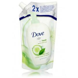 Dove Go Fresh Cucumber & Green Tea kreminis kūno prausiklis (papildymas) 500 ml.