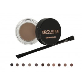 Makeup Revolution Brow Pomade uzacu līdzeklis ar birstīti 2.5 g.