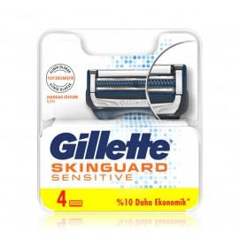 Gillette Skinguard Sensitive skuvekļa galviņas 4 gab.