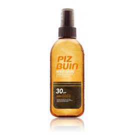 Piz Buin Wet Skin Transparent Sun Spray SPF15 uz mitrās ādas smidzināms aizsargājošs līdzeklis 150 ml.