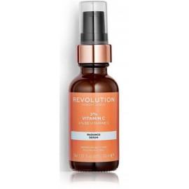 Makeup Revolution Vitamin C Skincare Radiance Serum 3% serums ar C vitamīnu 30 ml