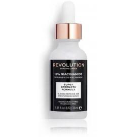 Makeup Revolution 15 % Niacinamide Refining and Moisturising Serum atjaunojošs serums sejai 30 ml