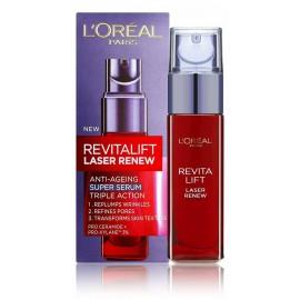 Loreal RevitaLift Rejuvenating Serum Laser X3 serums nobriedušai ādai 30 ml.
