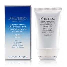 Shiseido Urban Environment UV Protection SPF 30 saules aizsargkrēms sejai 50 ml.