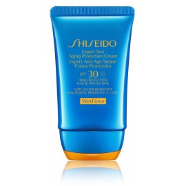 Shiseido Expert Sun Aging Protection SPF 30 saules aizsargkrēms 50 ml.