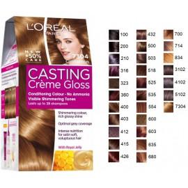 Loreal Casting Creme Gloss matu krāsa bez amonjaka