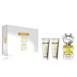 Moschino Toy 2 komplekts sievietēm (50 ml EDP + dušas želeja 50 ml + ķermeņa losjons 50 ml)