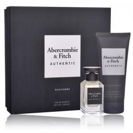 Abercrombie & Fitch Authentic Man komplekts vīriešiem (50 ml. EDT + 200 ml. dušas želeja)