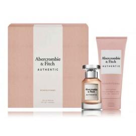 Abercrombie & Fitch Authentic Woman komplekts sievietēm(50 ml. EDP + ķermeņa losjons 200 ml.)